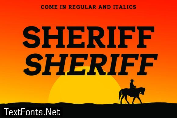 Sheriff Font