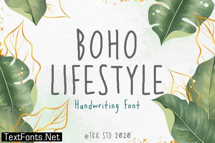 Boho Lifestyle Font