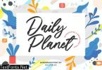 Daily Planet YH - Modern Script Font