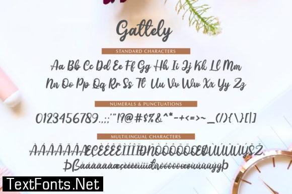 Gattely Font