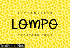 Lompo Font