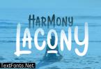 Harmony Lacony Font