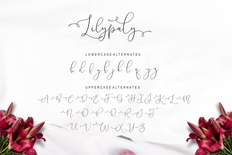 Lilypaly - A Handlettering Font 2939058