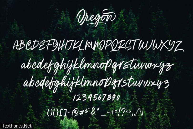 Oregon Script 2962798