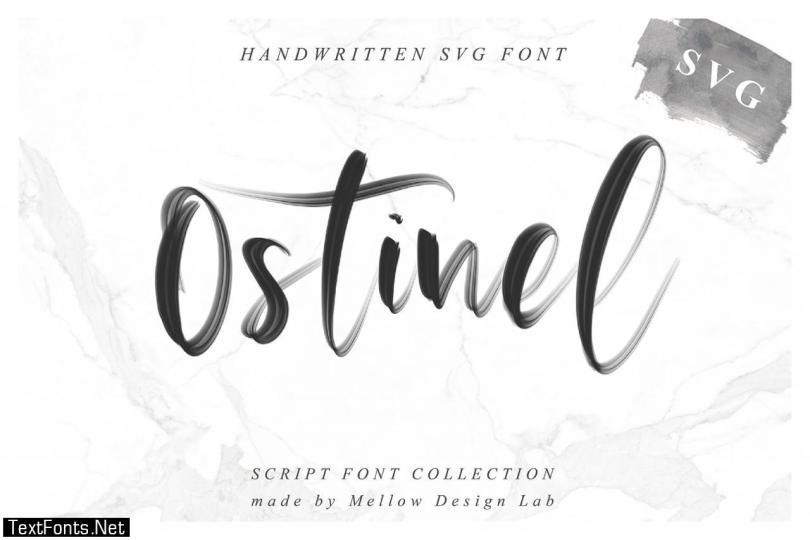 Ostinel SVG Font 2552986