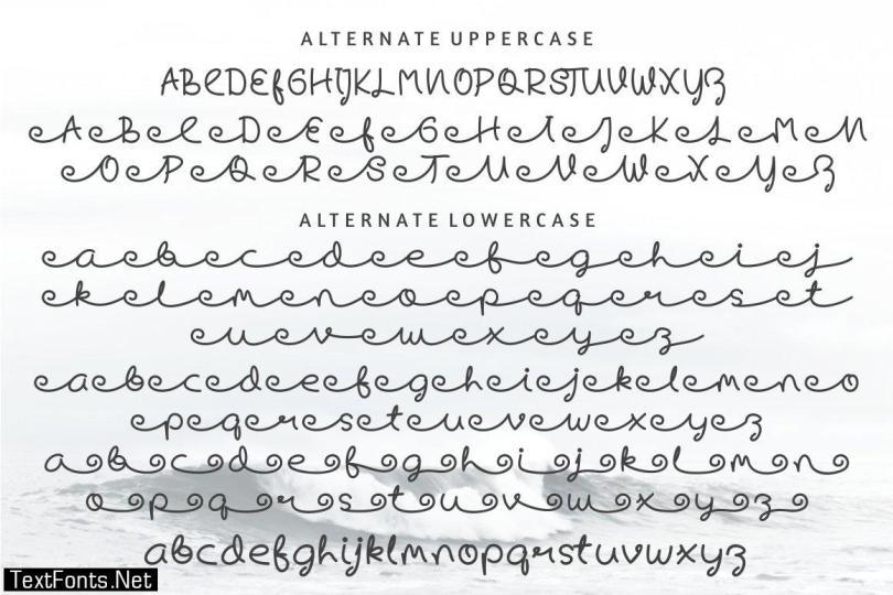 Skywave Typeface 2956585