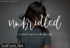 Unbridled Font