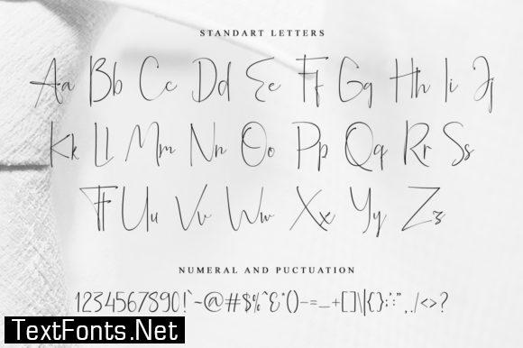 Alberth Family Font