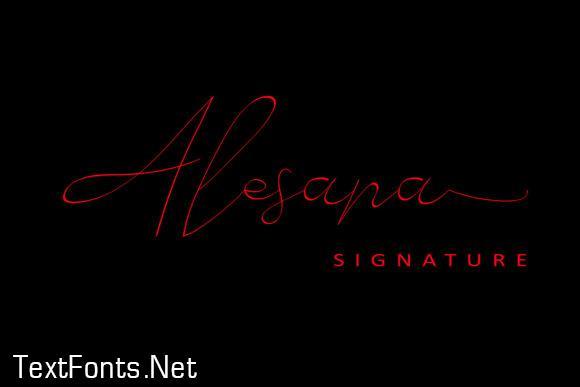 Alesana Font