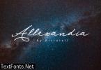 Allexandia Font