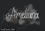 Ameliana Font