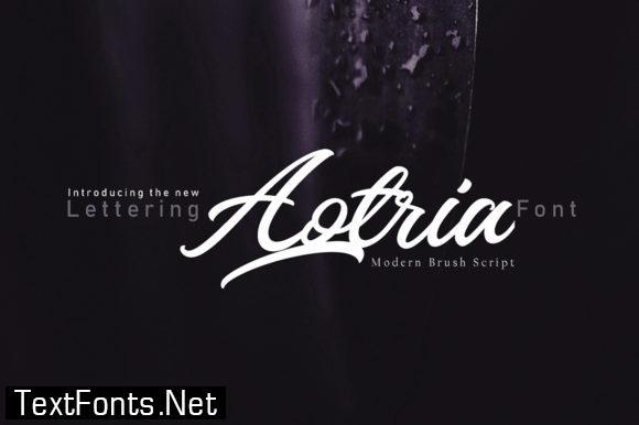 Aotria Font