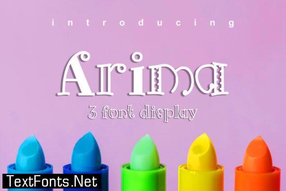 Arima Font