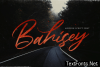 Bahisey Font