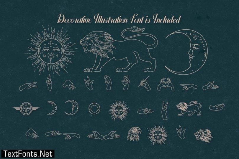 Behofeel Decorative Script