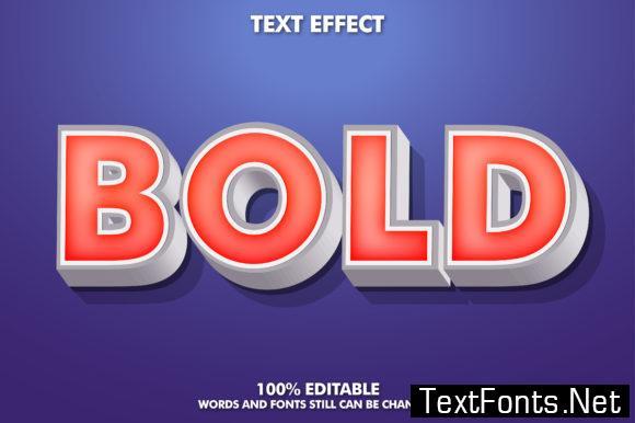 Bold Text Effect