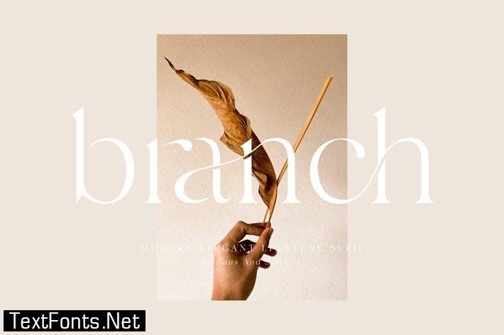 Branch Font