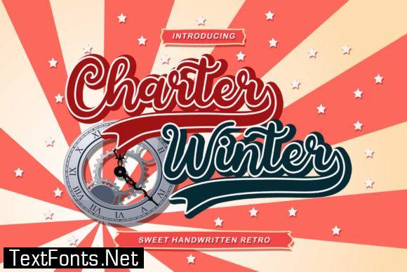 Charter Winter Font