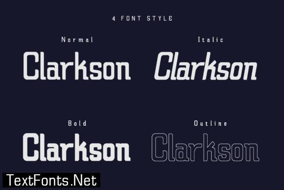Claretta Family Font