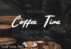 Coffee Time Font