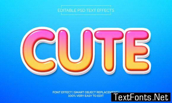 Cute Text Effect Style