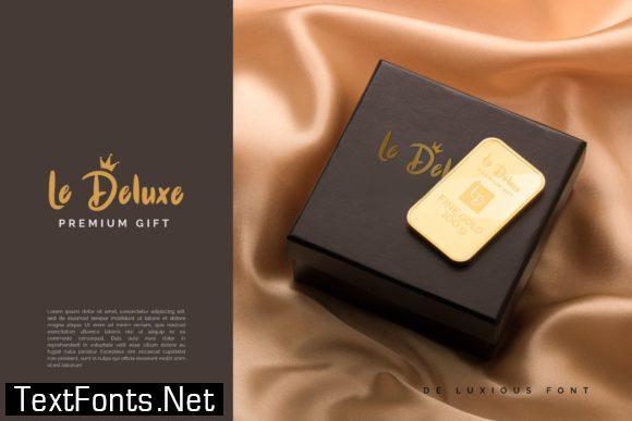 De Luxious Font