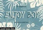 Enjoy Boy Font