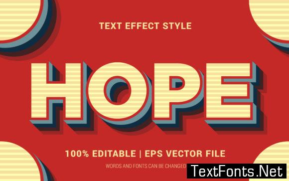 Hope Text Effects Style