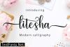 Litesha Script Font