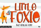 Little Foxie - Display Font