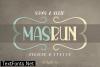 Masrun Font