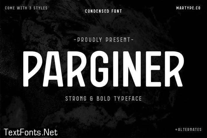 Parginer Condensed Sans