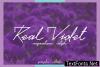Real Violet Font