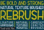 Rebrush Font