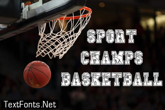 Sport Champs Basketball Font