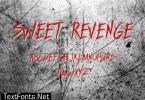 Sweet Revenge Font
