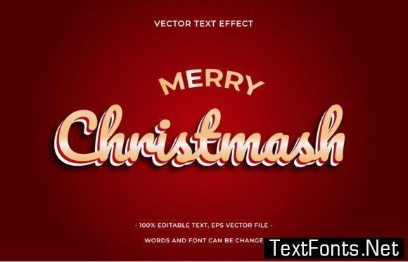 Text Effect Editable - Christmas