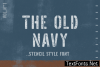 The Old Navy Font