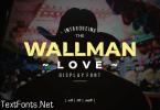 Wallman Font