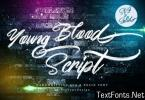 Young Blood Font