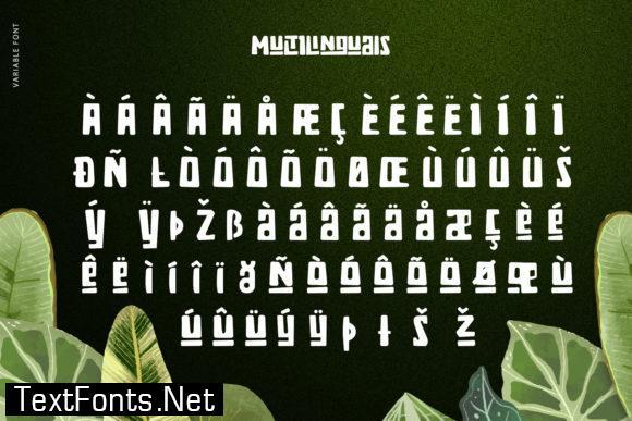 Zaba Zoo Font