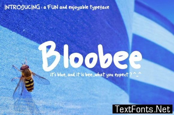 Bloobee Font