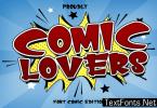 Comic Lovers Font