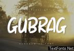 Gubrag Font