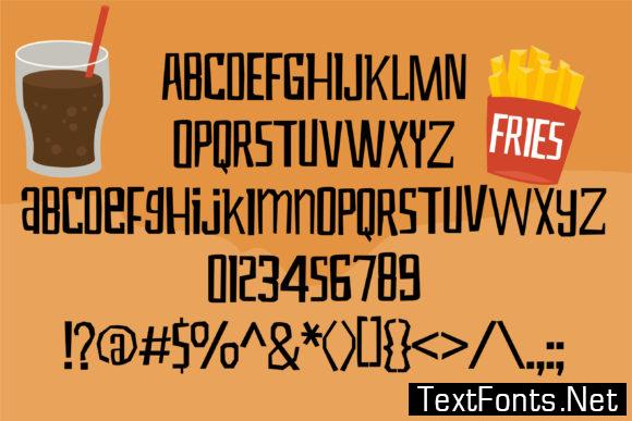 Hangry Font