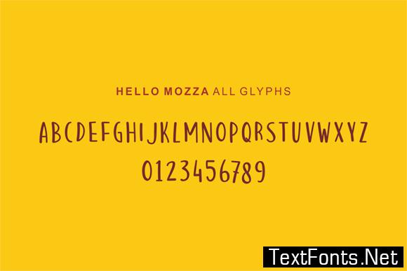 Hello Thankies Font