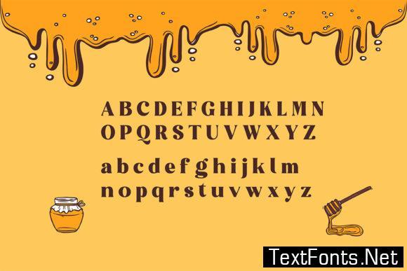 Honeybun Font