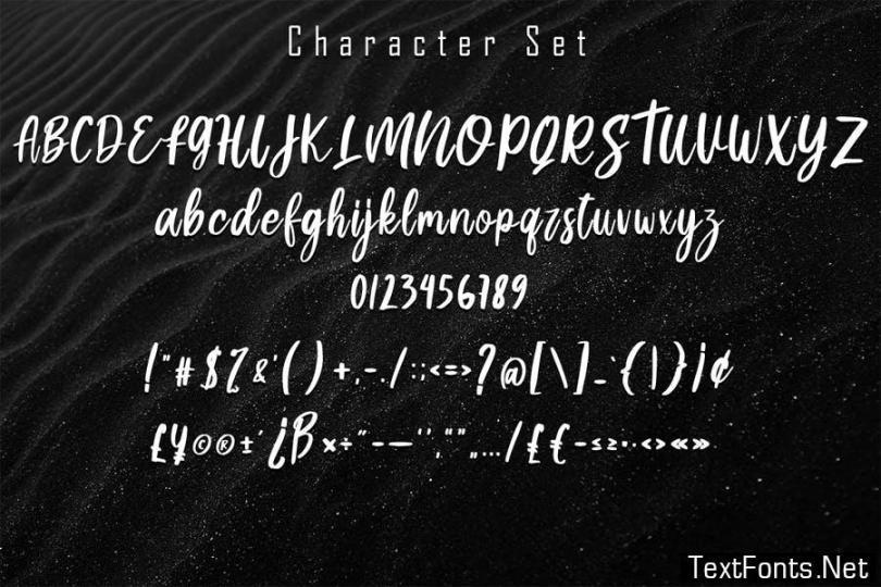 Machity Brush Script