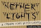 Nether Lights Font