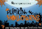 Pumpkin Hollowens Font